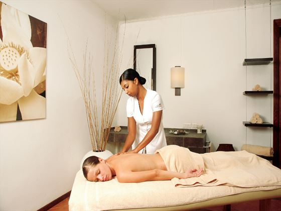Spa treatments at Veranda Grand Baie