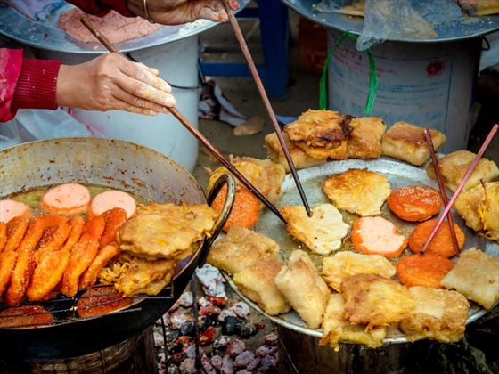 Fried street food