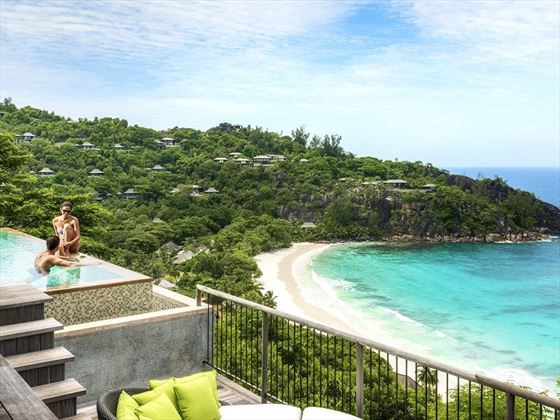 View from Serenity Villa