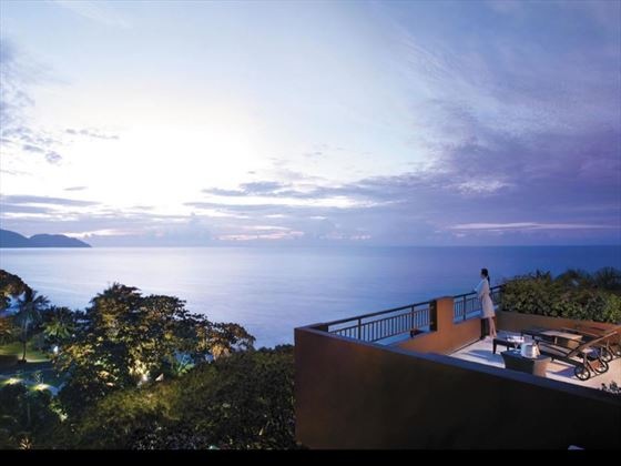 View from Shangri Las Rasa Sayang Resort & Spa Garden Wing Penang Suite