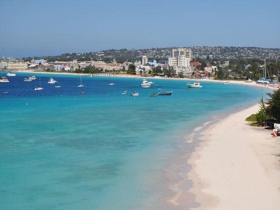 Views of Browns beach & Bridgetown