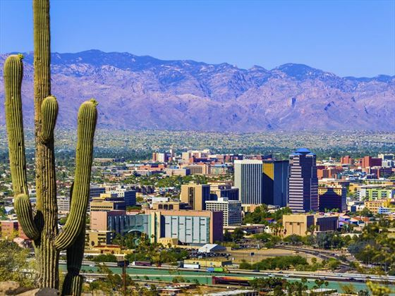 View of Tuscon, Arizona