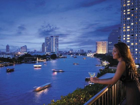 Views from Shangri-La Bangkok