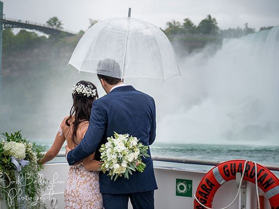 Bride & Groom, Niagara Falls
