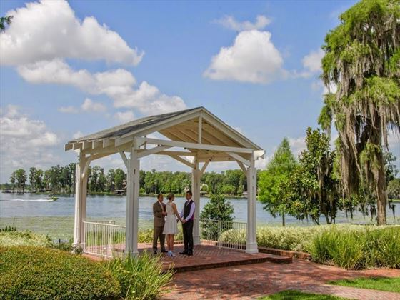 The White Gazebo at Cypress Grove
