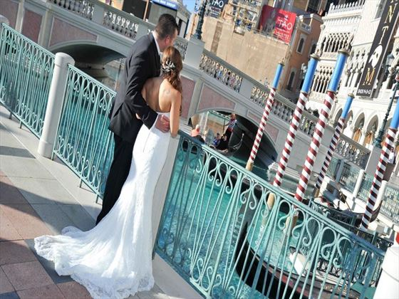 Getting married at The Venetian