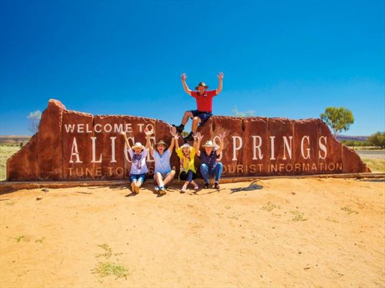 Welcome to Alice Springs