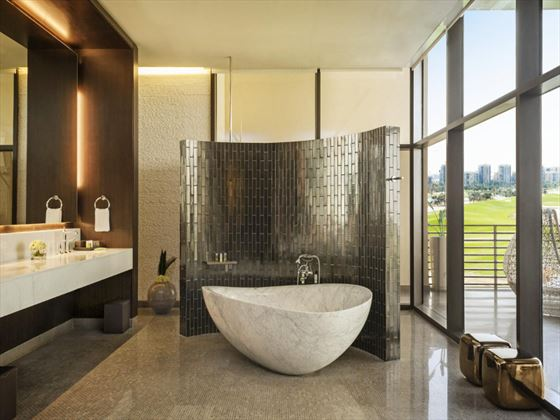 Westin Abu Dhabi Presidential Suite bathroom