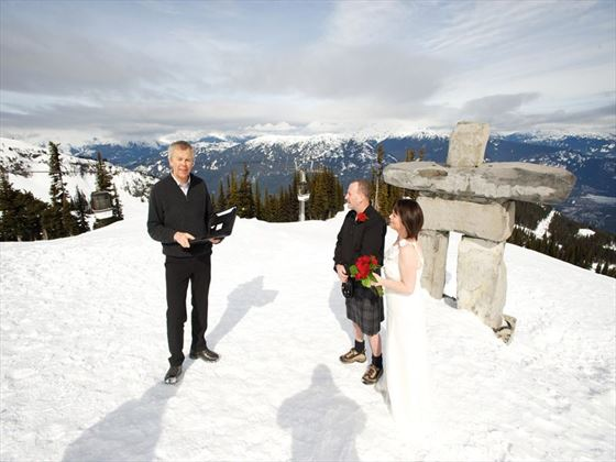 Whistler & Blackcomb Mountains weddings