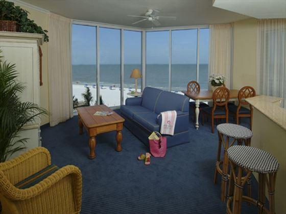 White Sands Apartment Living Room