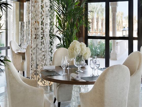 Zest restaurant at One&Only The Palm