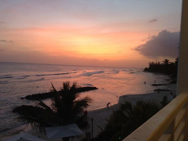 Soco hotel barbados sunset