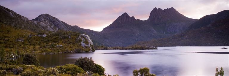 View of Cradle Mountain, Tasmania