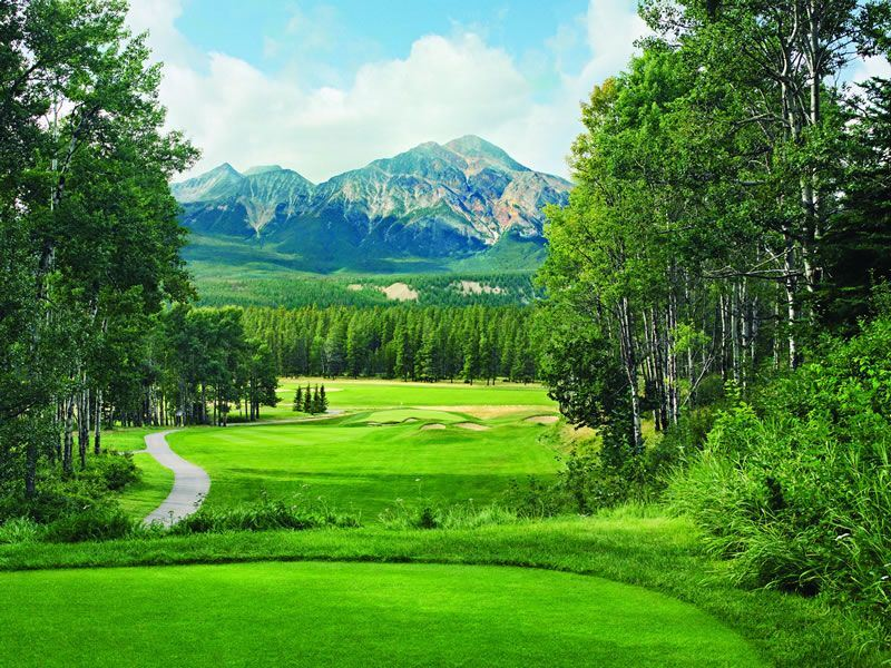Fairmont Jasper Park Lodge Golf2