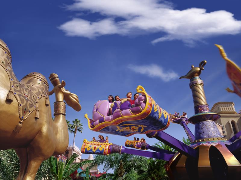 Magic Kingdom The Magic Carpets of Aladdin Walt Disney Worl CR