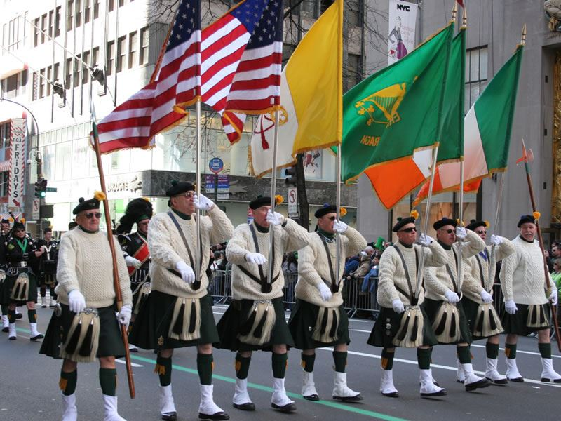 St Patrick's Day Parade, New York