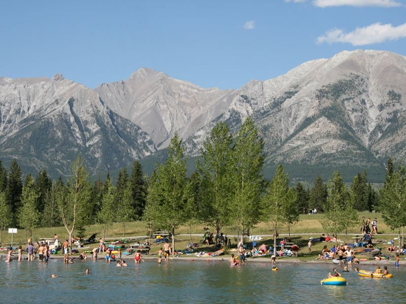 Swimming Canmore Quarry Canmore CR