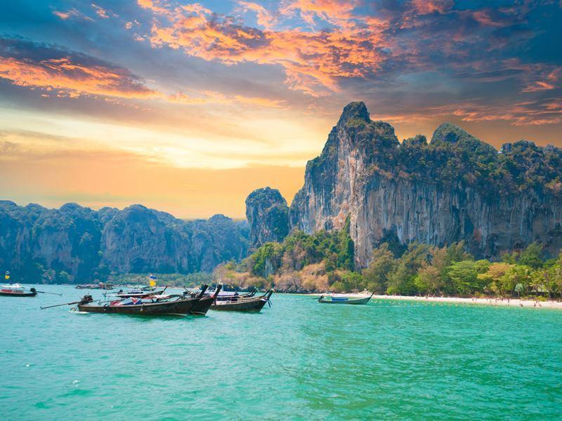 Andaman coastline, Thailand