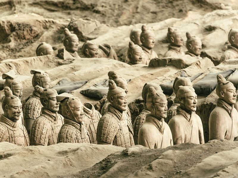 army terracotta warriors xian