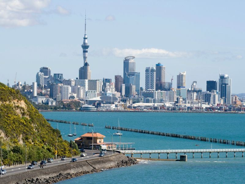 auckland with jetty