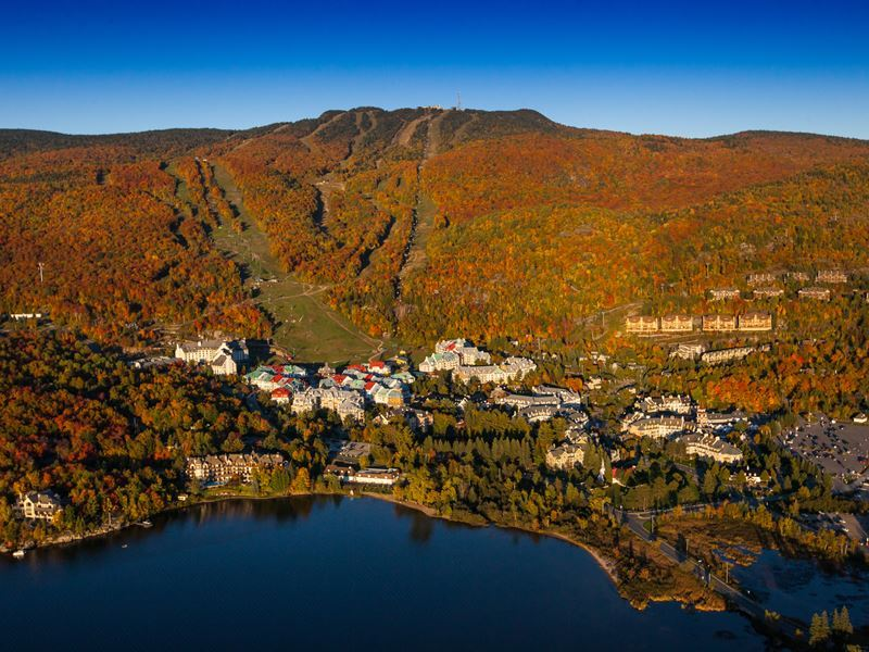 autumn colours of tremblant