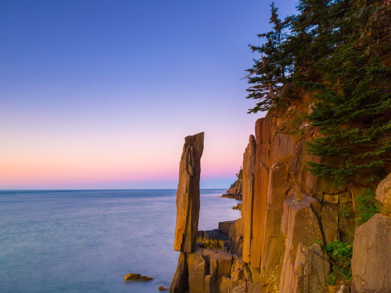 balancing rock bay fundy