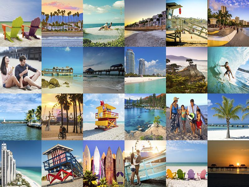 Best beach holidays with american sky for Places to visit in the us during christmas