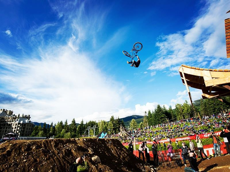 big air jump crankworx whistler