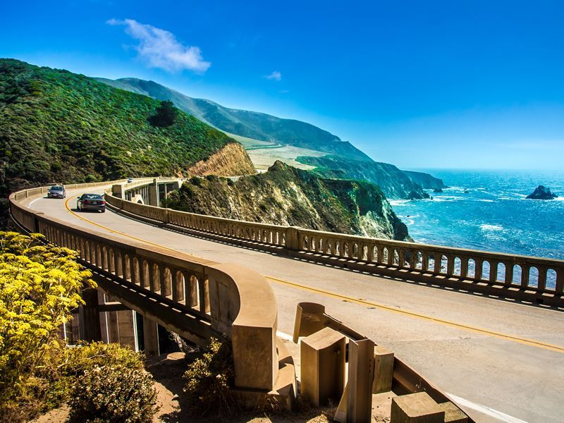 Bixby Bridge, Highway One