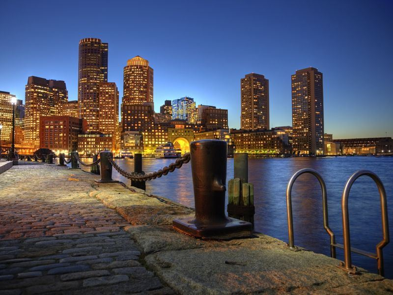 Boston Harbourwalk