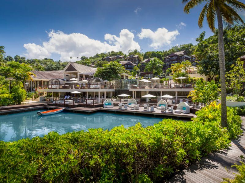 More Information And To Book Capella Marigot Bay Hotel