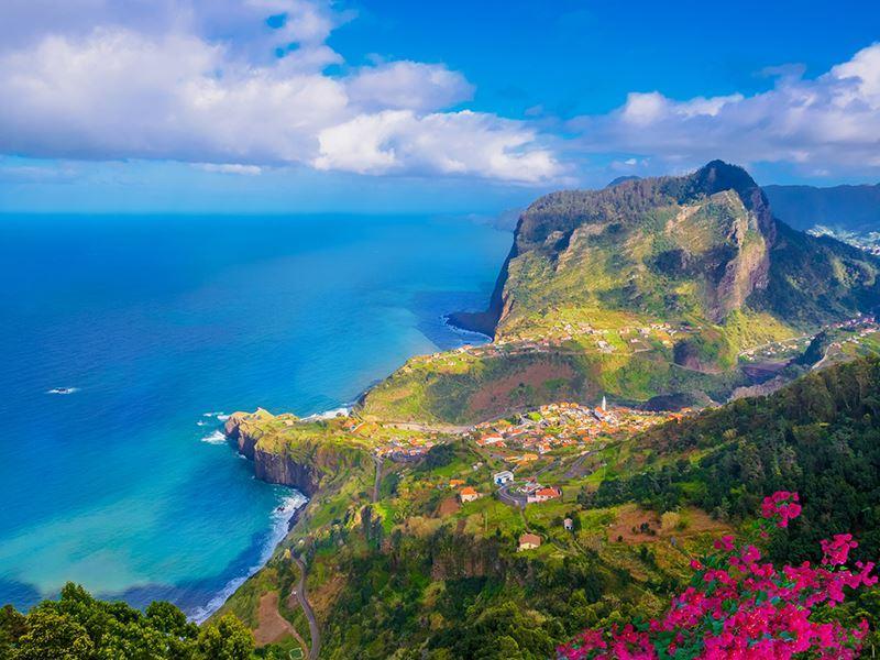 Coastline in Madeira