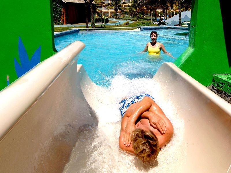 coconut bay cocoland waterslide