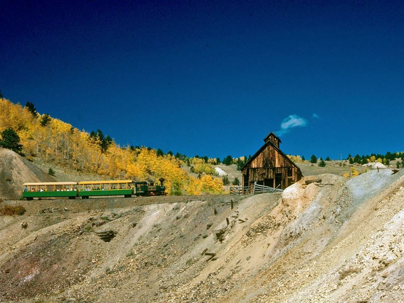 Cripple Creek tourist train