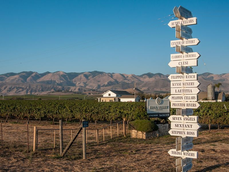 edna valley wineries san luis obispo county