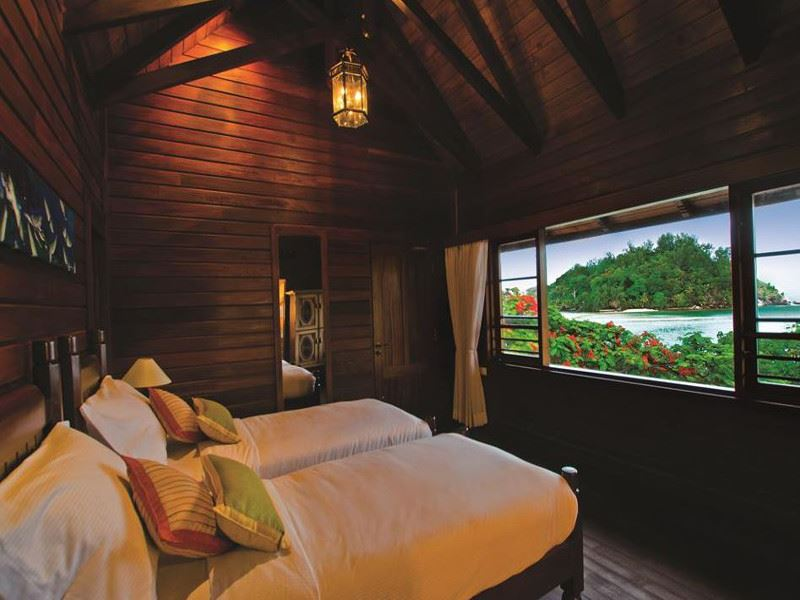 enchanted island resort bedroom