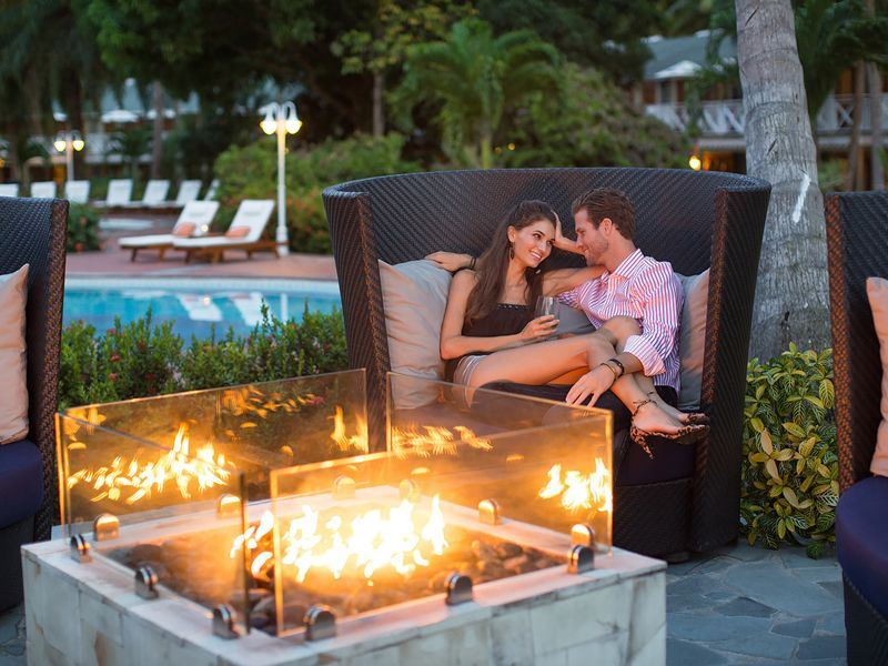 Enjoy a romantic holiday at Sandals Halcyon Beach