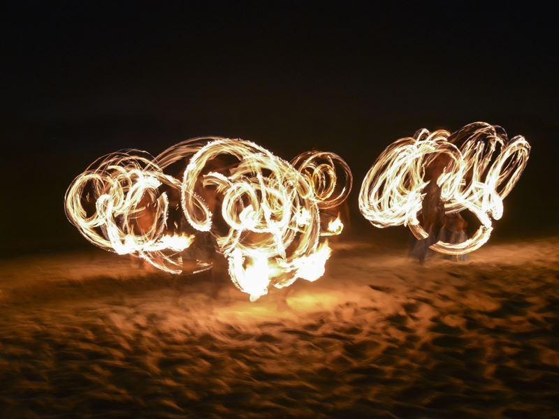 fijian fire dance