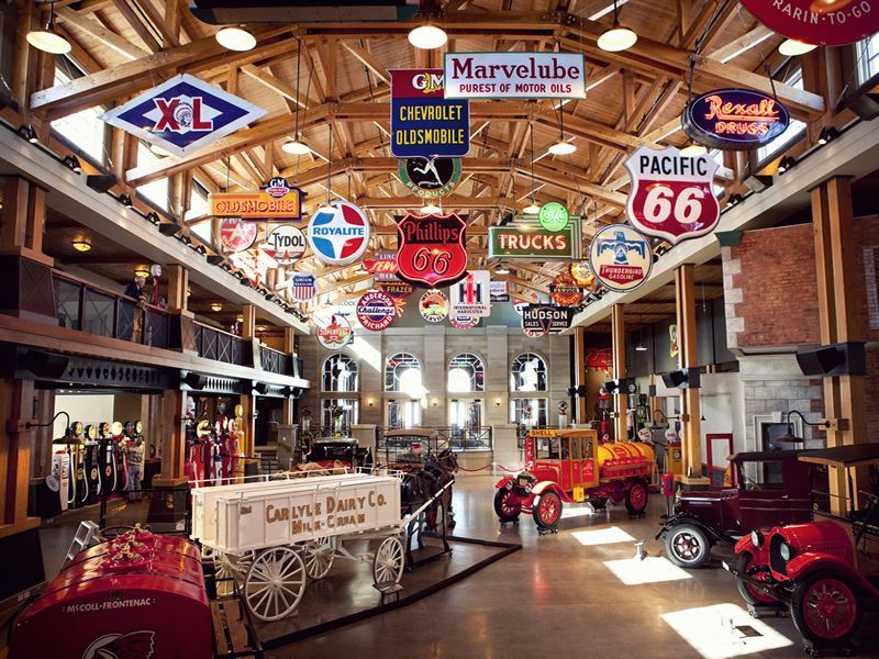 gasoline alley heritage park historical village