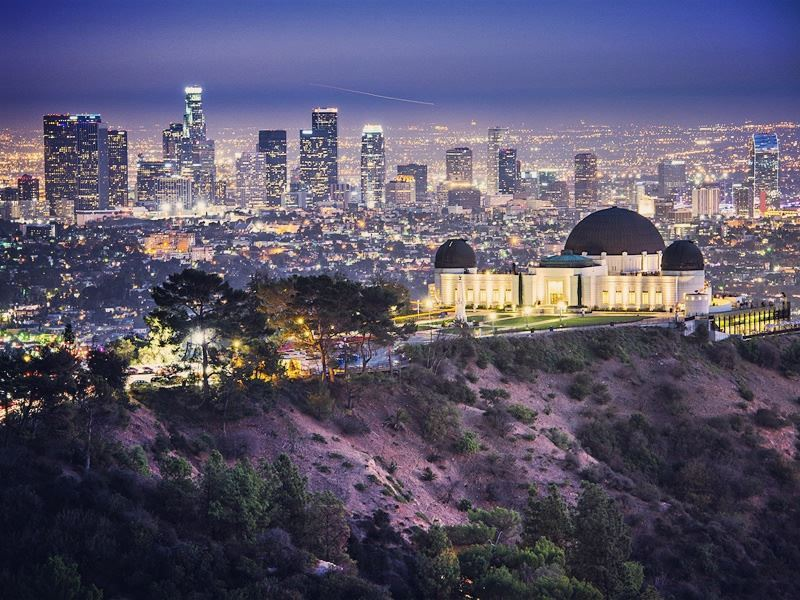 griffith observatory downtown la