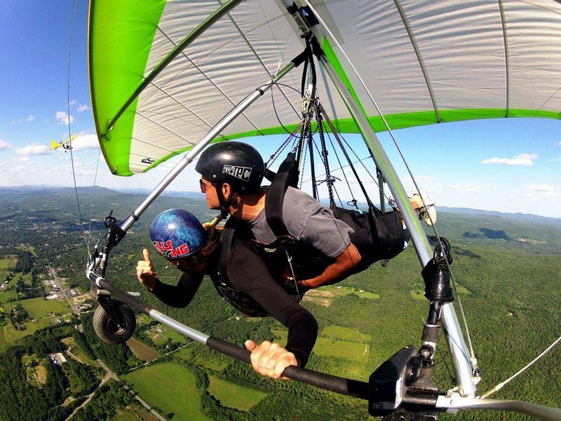 hang gliding at morningside