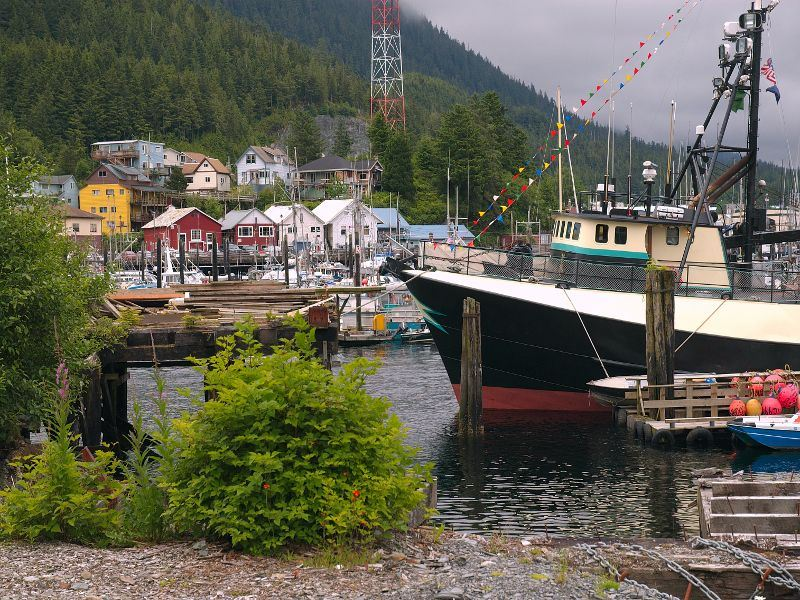 harbour in ketchikan alaska