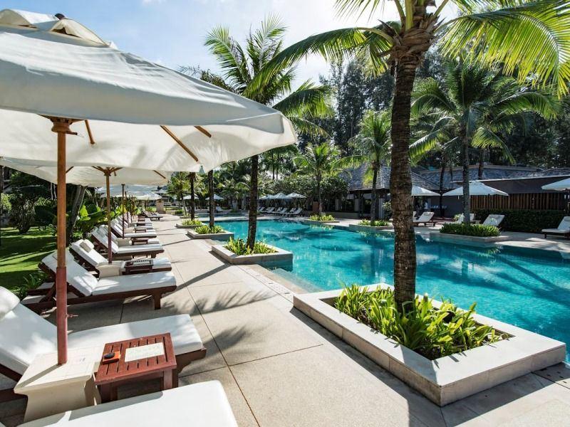 infinity pool layana resort koh lanta
