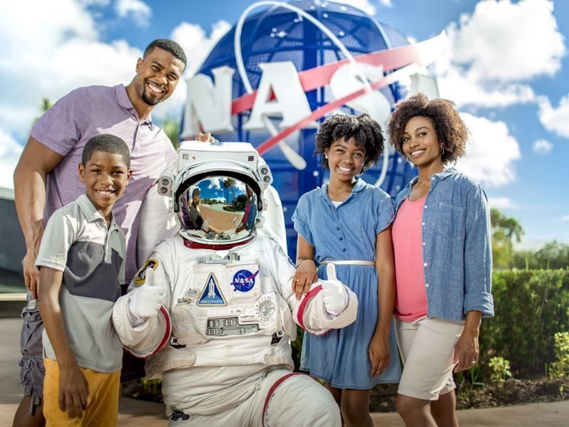 kennedy space centre family together