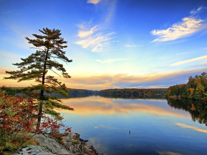 Lake in Muskoka, Ontario