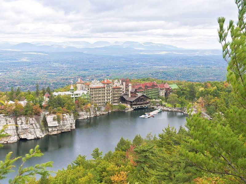 mohonk mountain house hudson valley