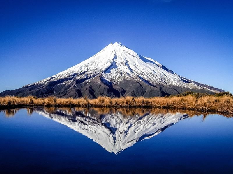 mount taranaki north island