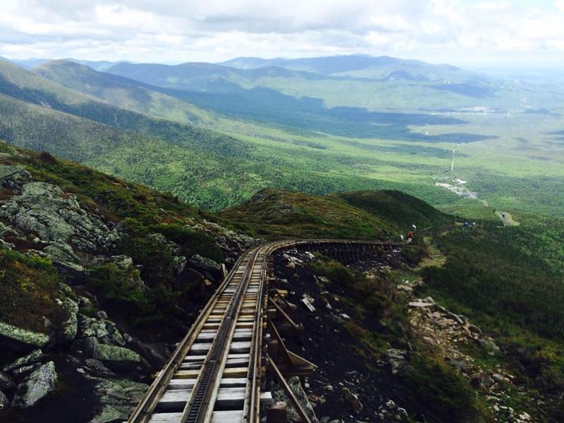 mount washington cog railway white mountains