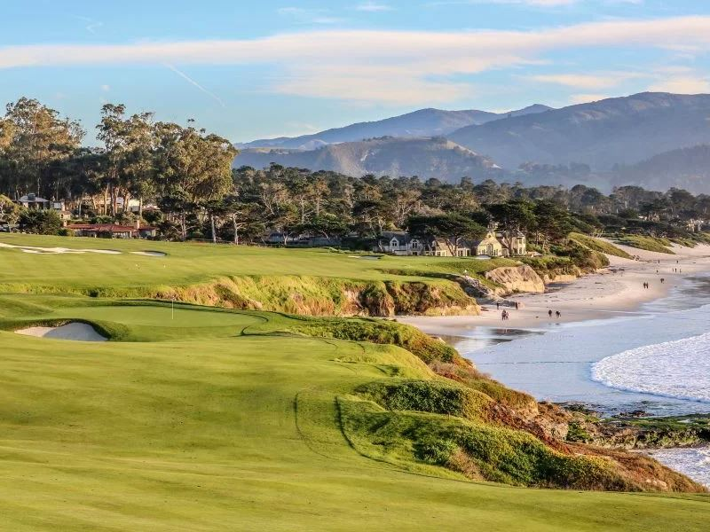 ninth hole pebble beach golf links