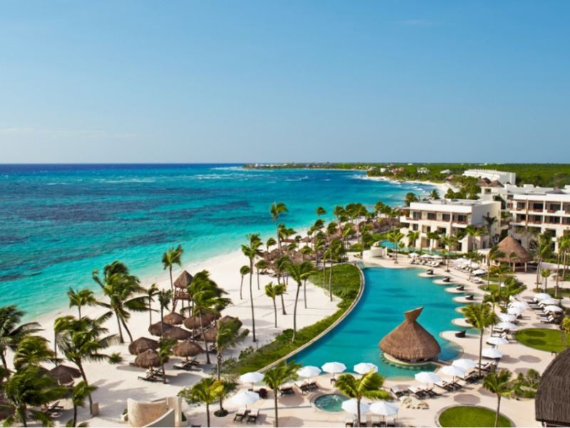 panoramic pool and beach secrets akumal